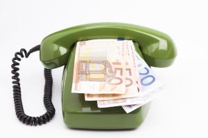 Peniaze a telefonovanie