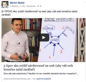 Prečo byť na Facebooku - zdieľať články