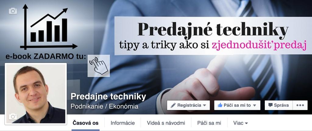 Prečo mať Facebook - fanpage