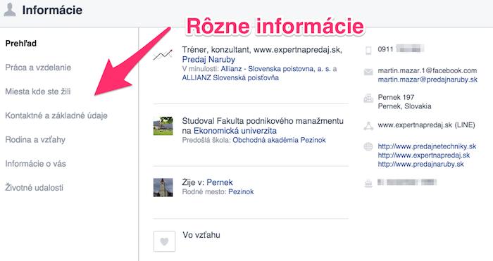 Prečo mať Facebook - informácie