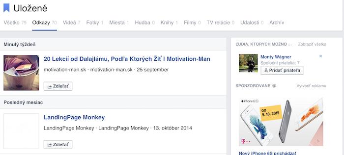 Prečo mať Facebook - uložisko