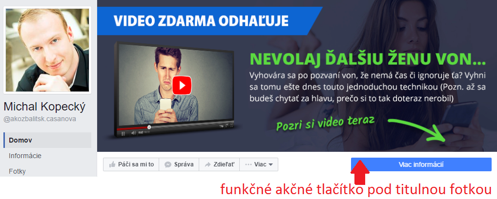 Fanpage titulná fotka