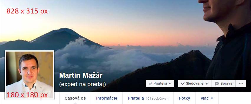 Facebook rozmery fotiek