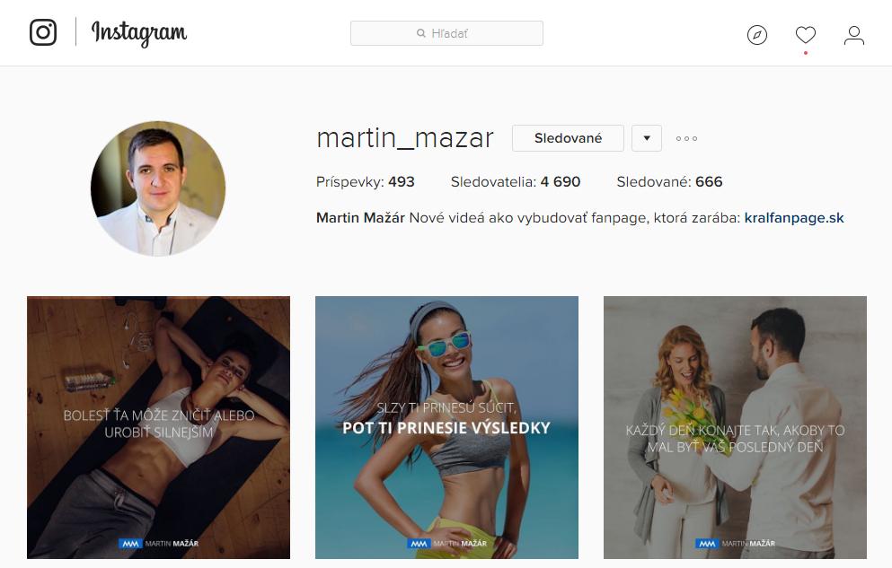 Instagram rozmery fotiek