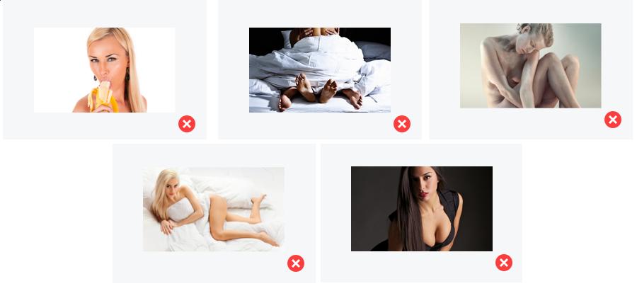 zakazane obrazky v reklame