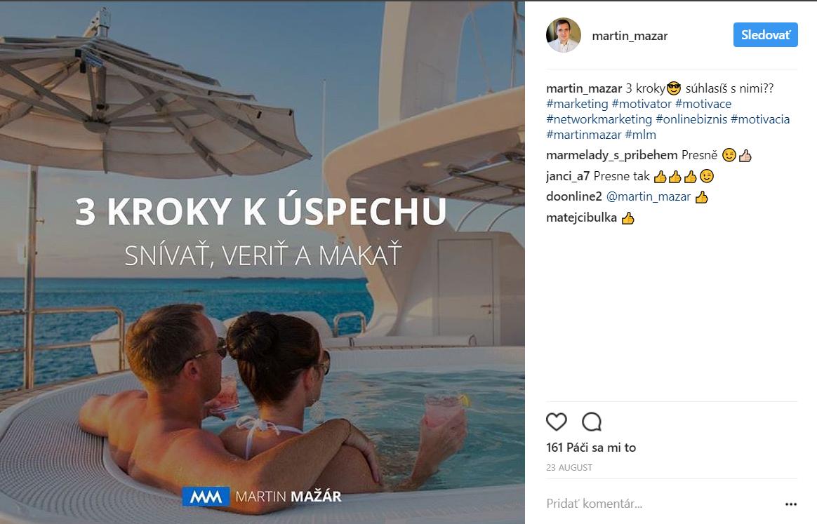 martin mazar profil na instagrame