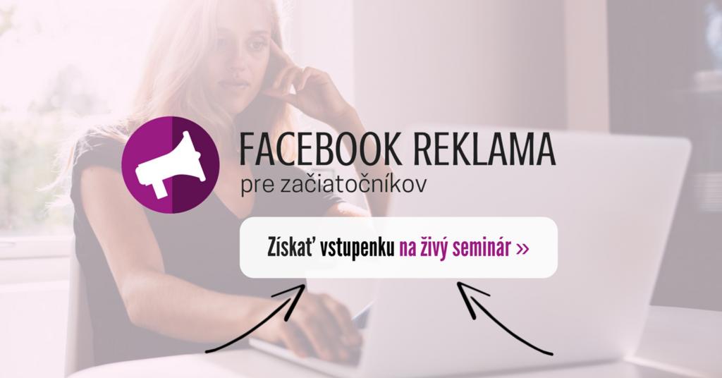 Facebooková reklama pre začiatočníkov