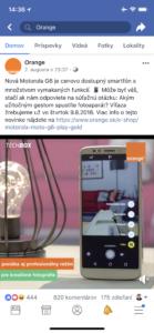 Facebook video - štvorcový formát